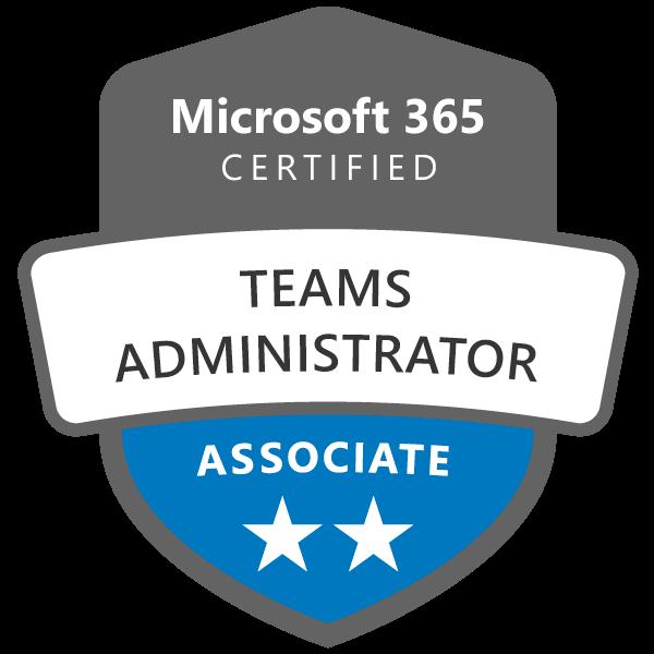 Microsoft Teams Administration Certification badge