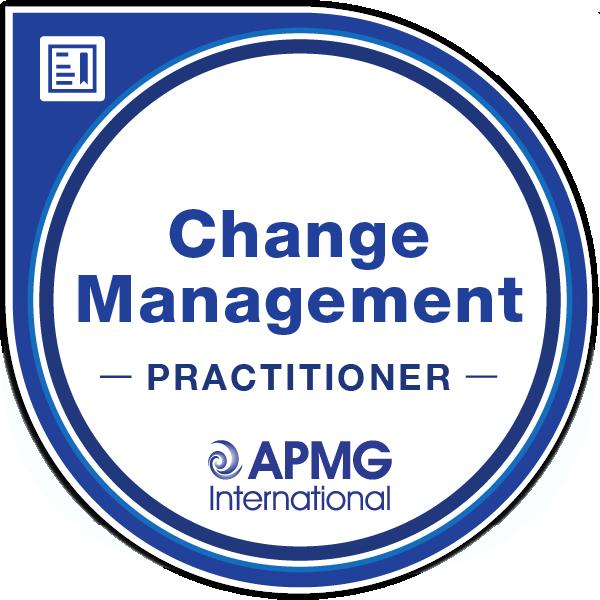 APMG Change Management Practitioner badge
