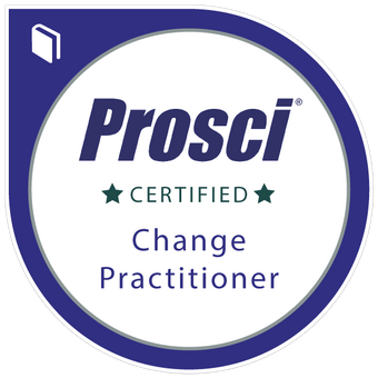 PROSCI Certified badge