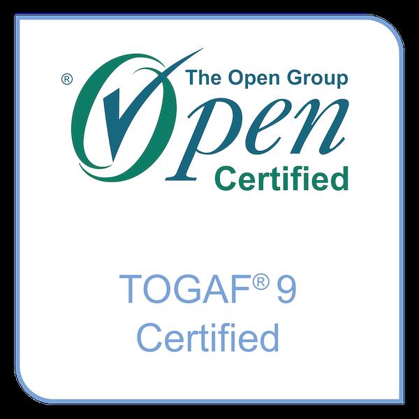 TOGAF 9 Certification badge